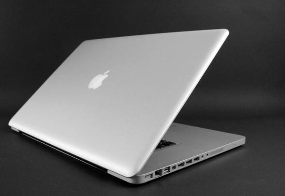 Apple Macbook Pro 17 MD311ZP/A back