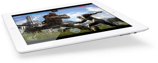 Apple New iPad 16GB Wifi (Ipad 3 2012) Gaming