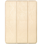 Bao da iPad Air 2 Hoco Cube Gold/ Beige/ Red