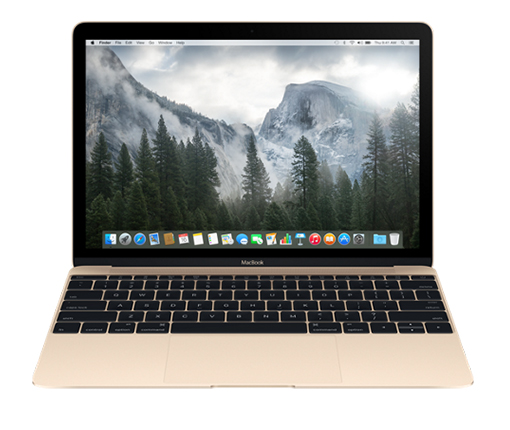 New Macbook 12'' 512GB Gold