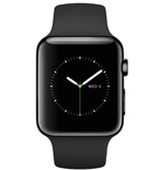 PKNK Dây đồng hồ Apple Watch 42mm Sport with Space Grey Stainless Steel Pin MJ4N2ZA/A