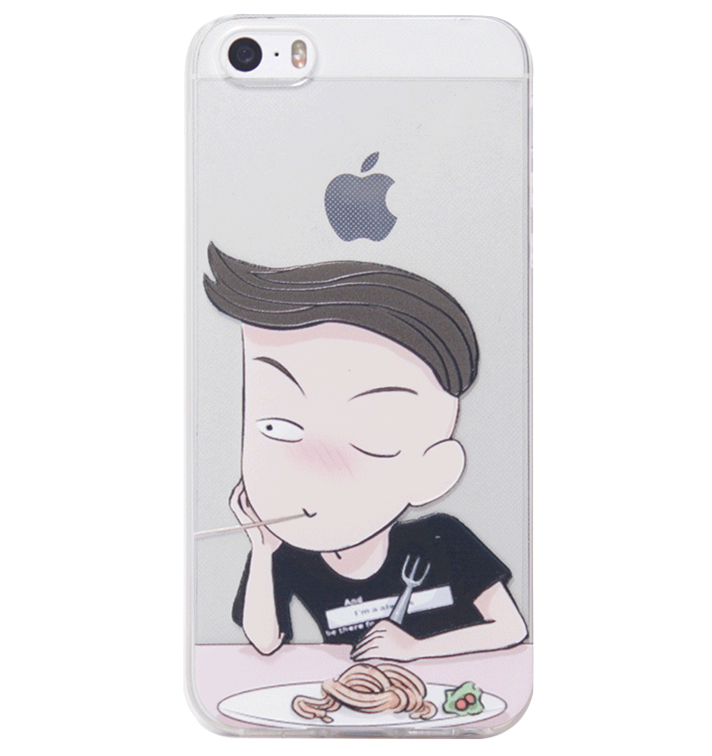 Ốp lưng iPhone 5S/SE Cute Boy