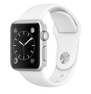 Apple Watch Sport 38mm Silver Aluminum Case with White Sport Band MJ2T2VN/A