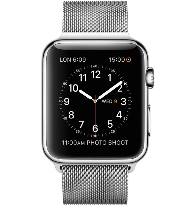 Apple Watch 42mm Stainless Steel Case with Milanese Loop MJ3Y2VN/A