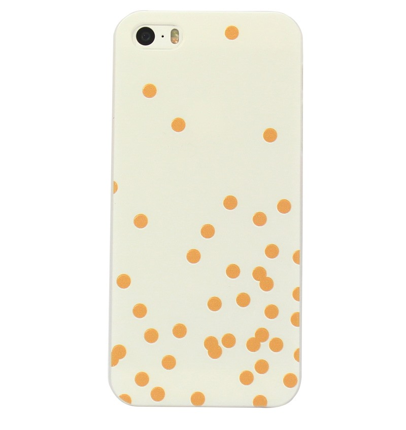 Ốp lưng iPhone 5S/SE White Dot