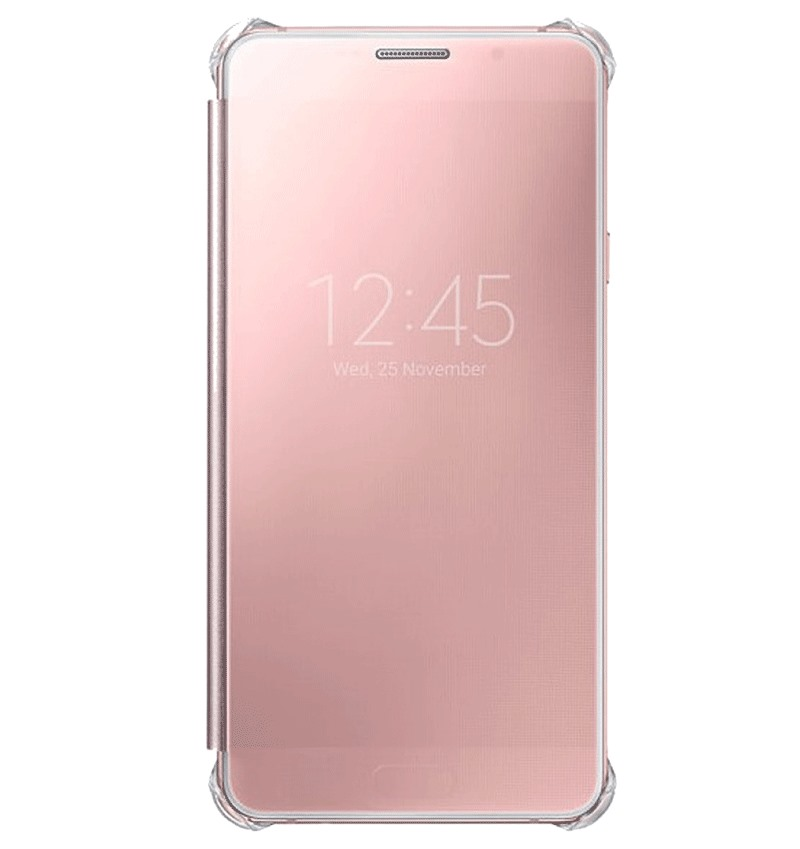 Bao da Samsung A5 (2016) Clear View Rose Gold