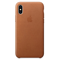 Apple Ốp lưng iPhone X  Leather Saddle Brown