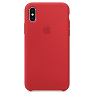 Apple Ốp lưng iPhone X  Silicon Red