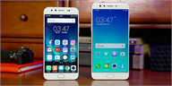 So sánh OPPO F3 Plus vs Vivo V5 Plus: Tre già, măng mọc