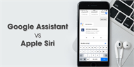 So sánh Google Assistant và Apple Siri trên iOS