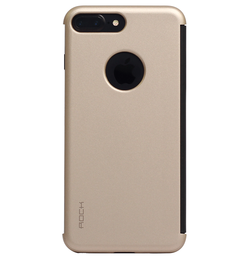 Bao da iPhone 7 Plus Rock Dr.V Gold