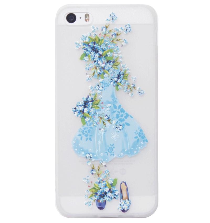 Ốp lưng iPhone 5S/SE Blue Skirt