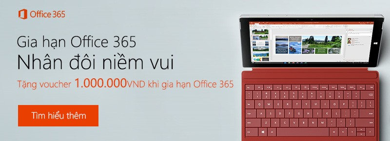 Gia hạn Office 365 C1