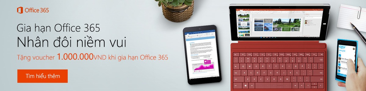 Gia hạn Office 365 S1