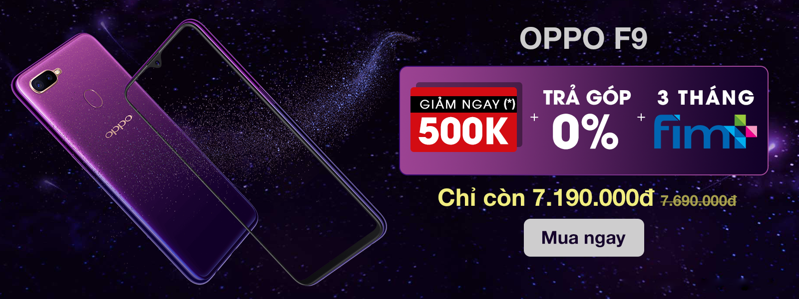 OPPO - IPB - Hot sales - OPPO F9 - 2018 Dec- H1