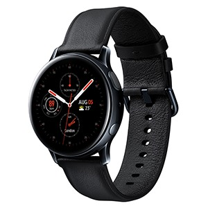 Galaxy Watch Active 2 44mm viền thép dây da
