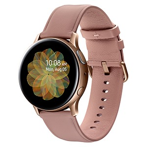 Galaxy Watch Active 2 40mm viền thép dây da