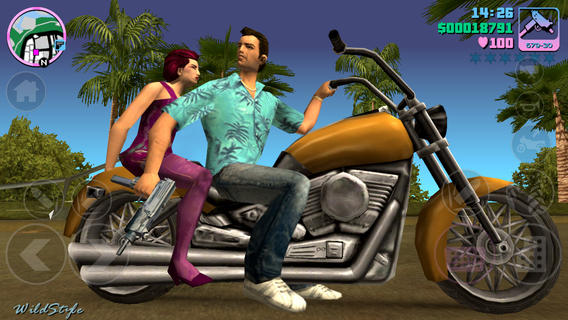 Game di động: Grand Theft Auto - Vice City