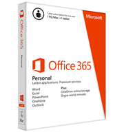 Office 365 Personal 32-bit/x64 English Subscr 1YR APAC EM Medialess