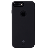 Ốp lưng iPhone 7 Plus Totu Silicon Jet Black