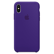 Apple Ốp lưng iPhone X  Silicon Ultra Violet