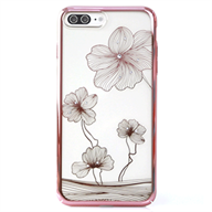 Ốp lưng iPhone 7 Plus Crystal Floral Pink