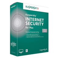For Mac - Kaspersky Internet Security (1 Mac/1 năm)