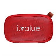 Loa bluetooth i.value BT117 red
