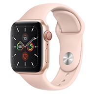 Apple Watch S5 GPS + Cellular, 40mm viền nhôm dây cao su