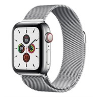 Apple Watch S5 GPS + Cellular, 40mm viền thép dây Milanese