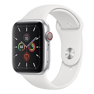 Apple Watch S5 GPS + Cellular, 44mm viền nhôm dây cao su