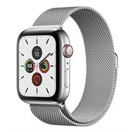 Apple Watch S5 GPS + Cellular, 44mm viền thép dây Milanese