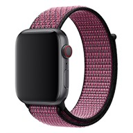 Apple Dây đeo Apple Watch 44mm Pink Blast/True Berry Nike Sport Loop