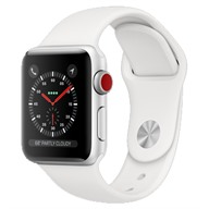 Apple Watch S3 GPS + Cellular, 38mm viền nhôm dây cao su