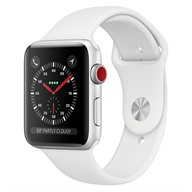 Apple Watch S3 GPS + Cellular, 42mm viền nhôm dây cao su
