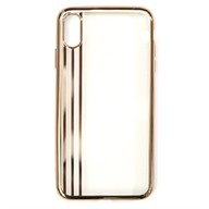 Ốp lưng iPhone XS Max Nhựa dẻo Electroplating TPU-String Meetu Gold