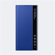 Bao da Samsung Note 10 Plus Clear View Blue