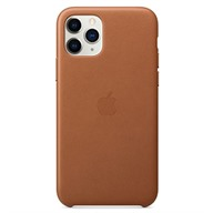 PKNK Ốp lưng iPhone 11 Pro Max Leather Saddle Brown