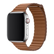 Apple Dây đeo Apple Watch 44mm Saddle Brown Leather Loop - Size XL