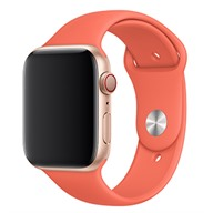 Apple Dây đeo Apple Watch 44mm cao su Clementine