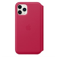 PKNK Bao da iPhone 11 Pro Leather Folio Raspberry