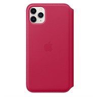 PKNK Bao da iPhone 11 Pro Max Leather Folio Raspberry