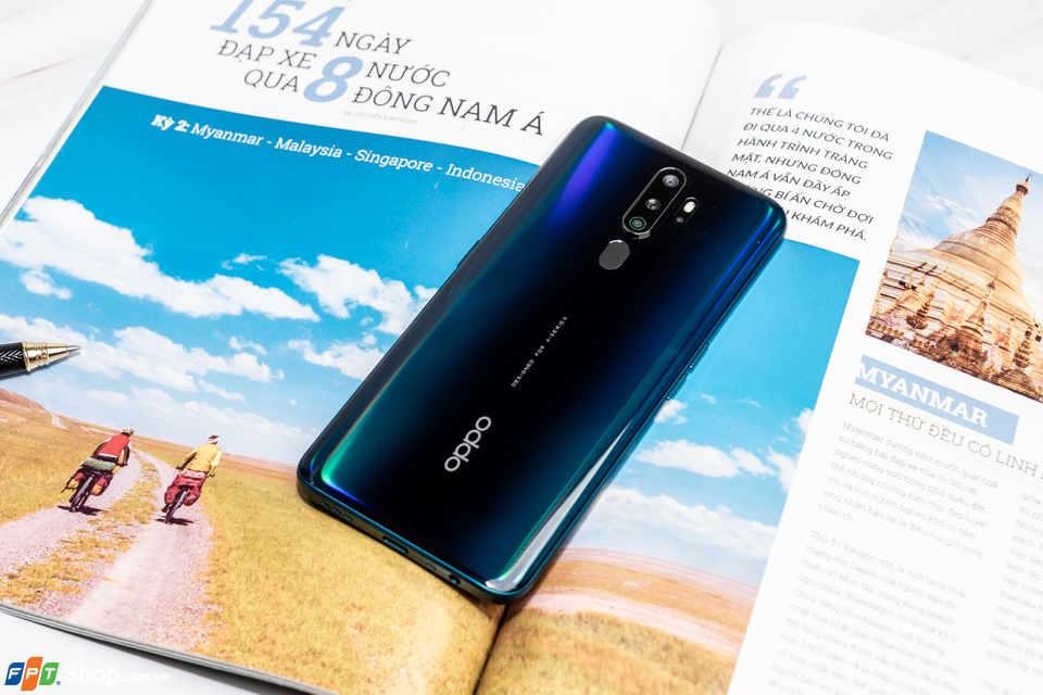 thiết kế Oppo A9 2020