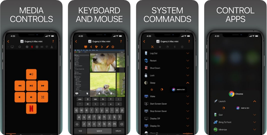 Remote, Mouse & Keyboard