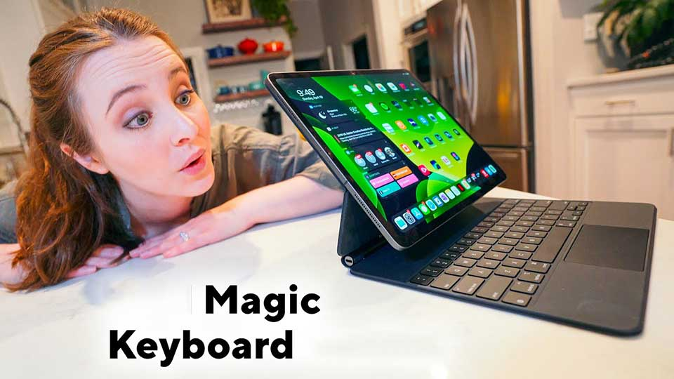 Magic Keyboard mới cho iPad Pro