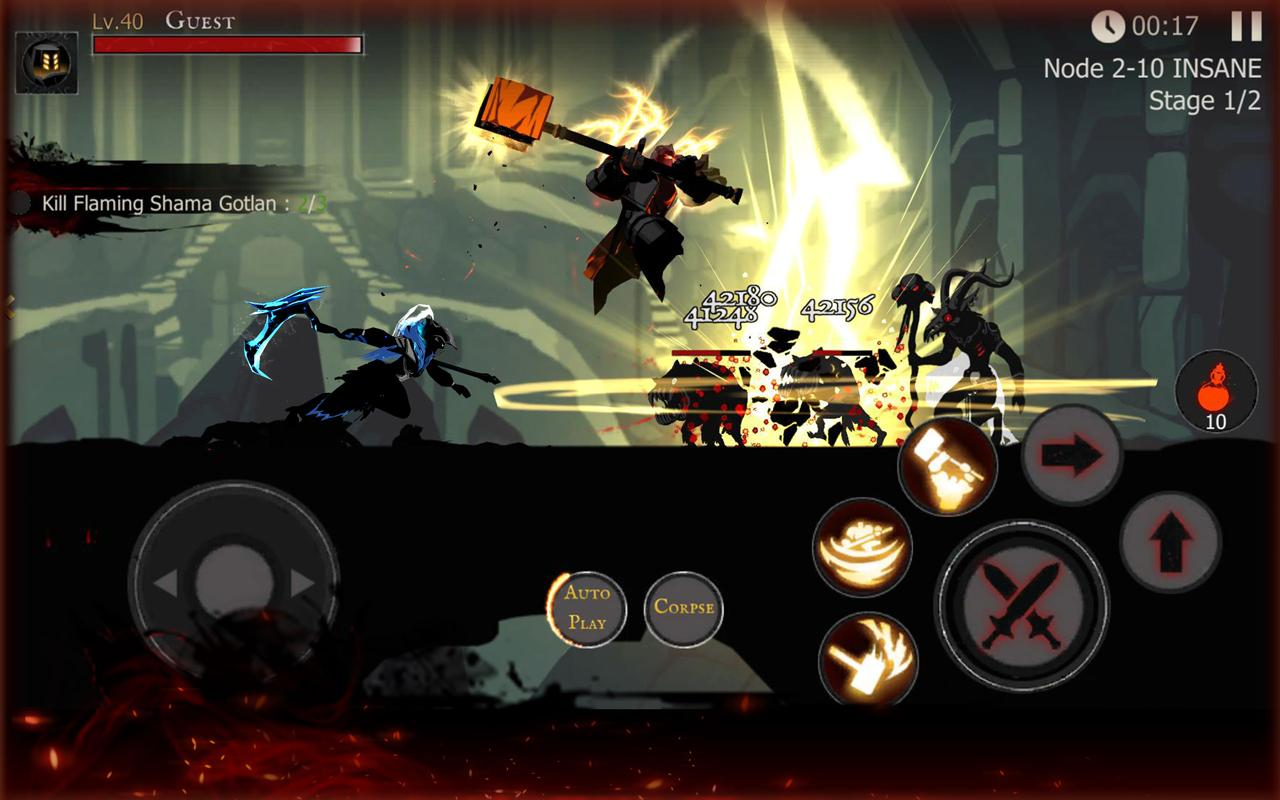 Tải về Shadow of Death: Stickman Fighting - Dark Knight