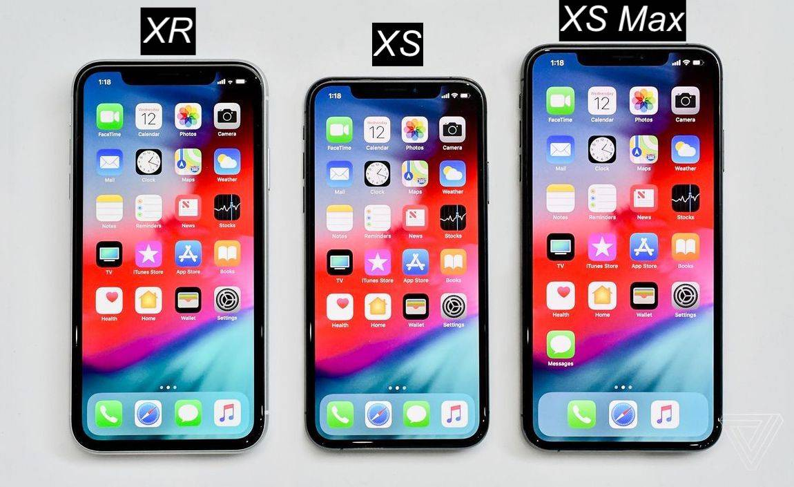 iPhone XR/XS/XS Max