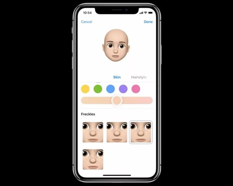 So sánh Samsung AR Emoji vs Apple Memoji 06