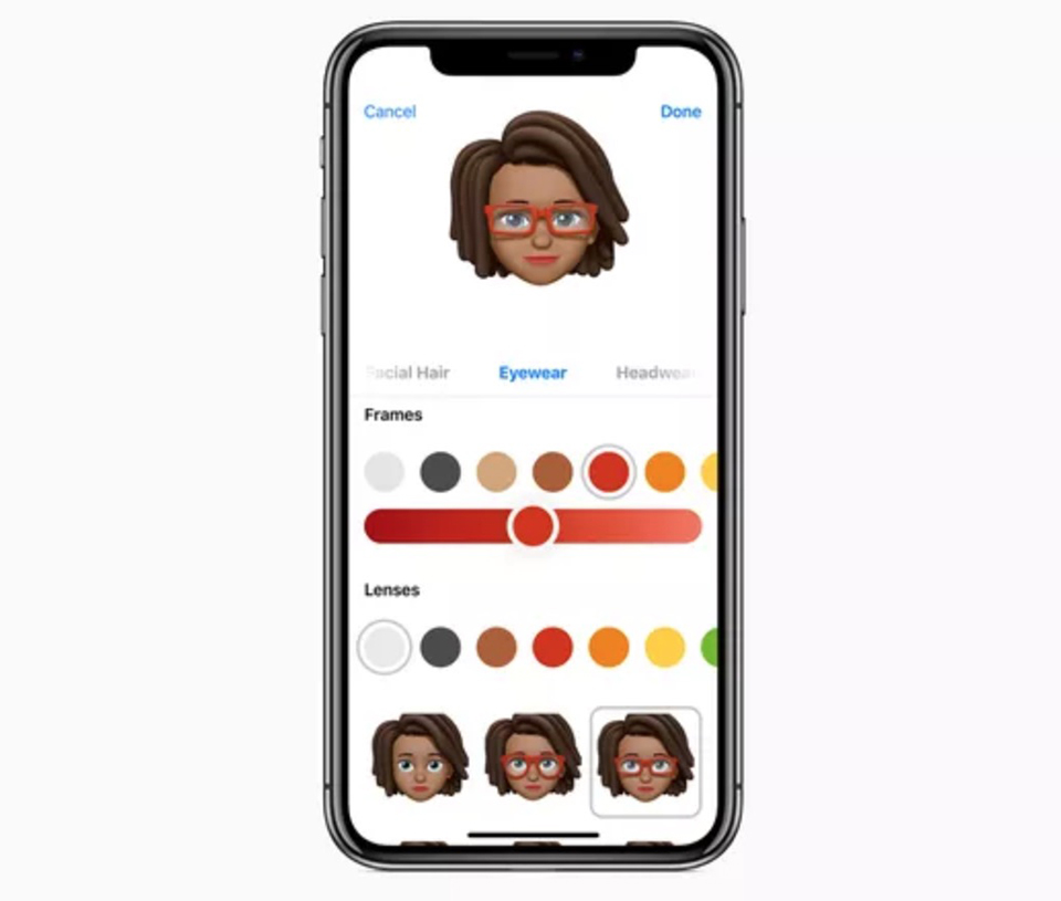 So sánh Samsung AR Emoji vs Apple Memoji 02