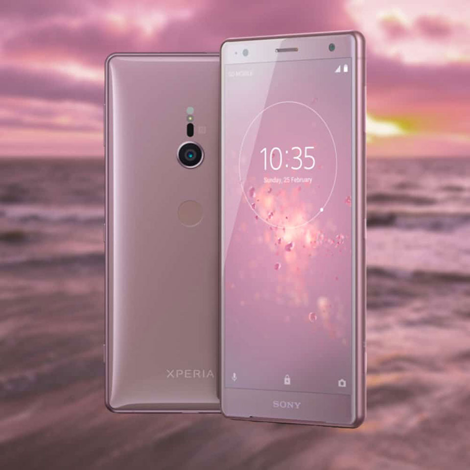 Sony Xperia XZ2 Coral Pink